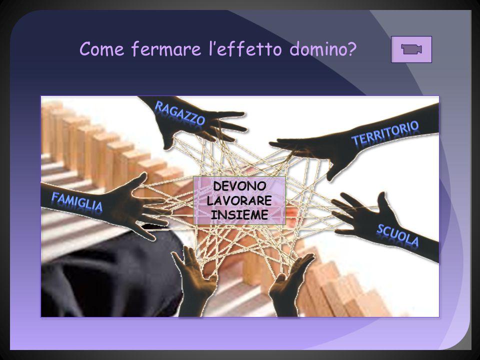 Come fermare l'effetto domino