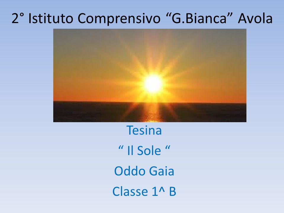 2° Istituto Comprensivo G.Bianca Avola