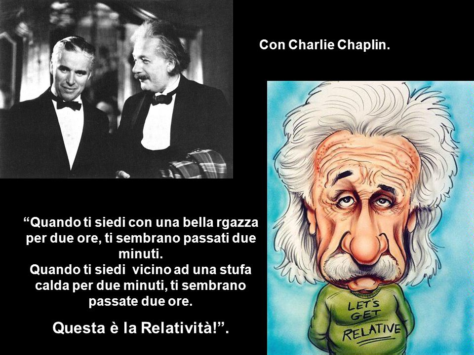 Questa è la Relatività! .