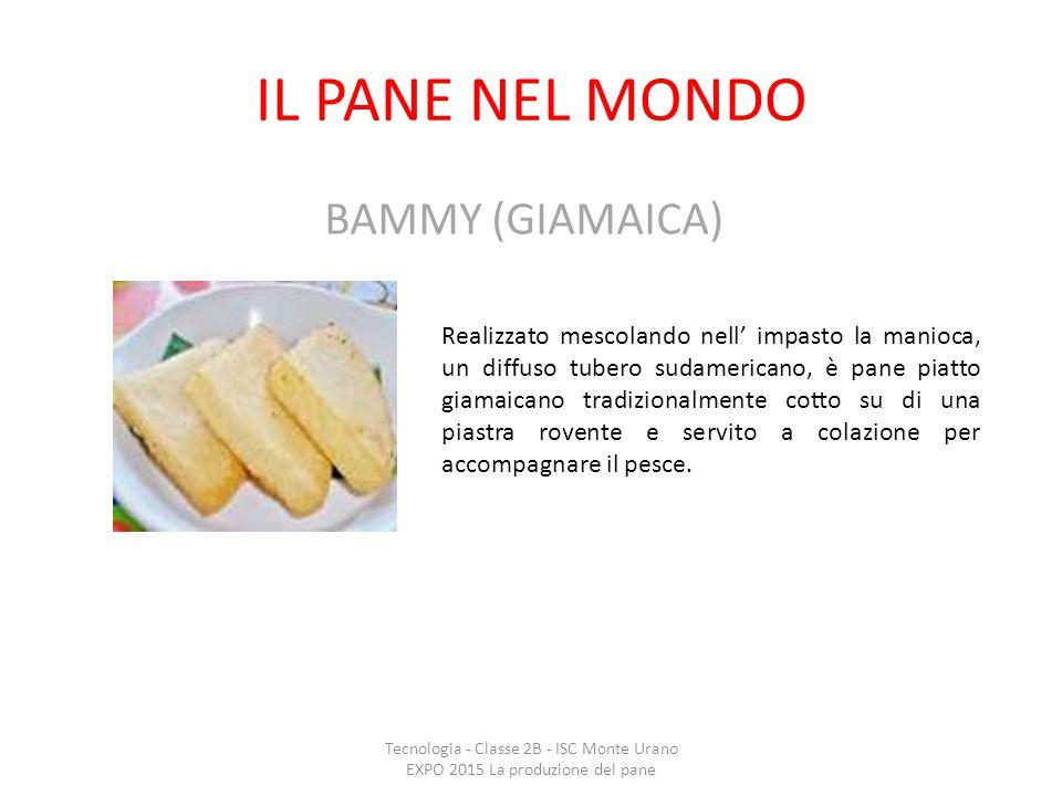 IL PANE NEL MONDO BAMMY (GIAMAICA)