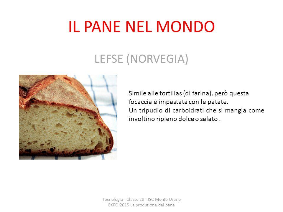 IL PANE NEL MONDO LEFSE (NORVEGIA)