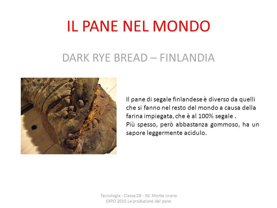 DARK RYE BREAD – FINLANDIA