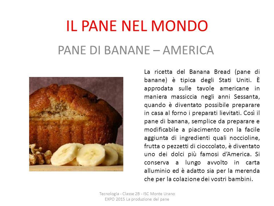 PANE DI BANANE – AMERICA