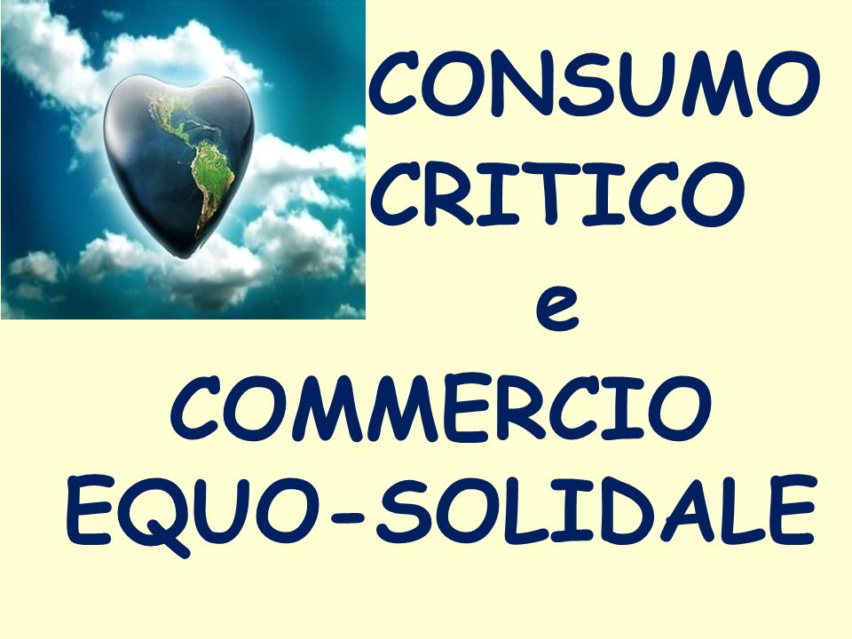 COMMERCIO EQUO-SOLIDALE