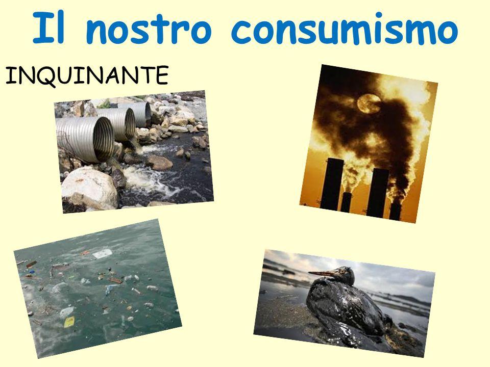 Il nostro consumismo INQUINANTE