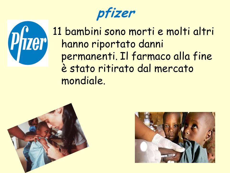 pfizer 11 bambini sono morti e molti altri hanno riportato danni permanenti.
