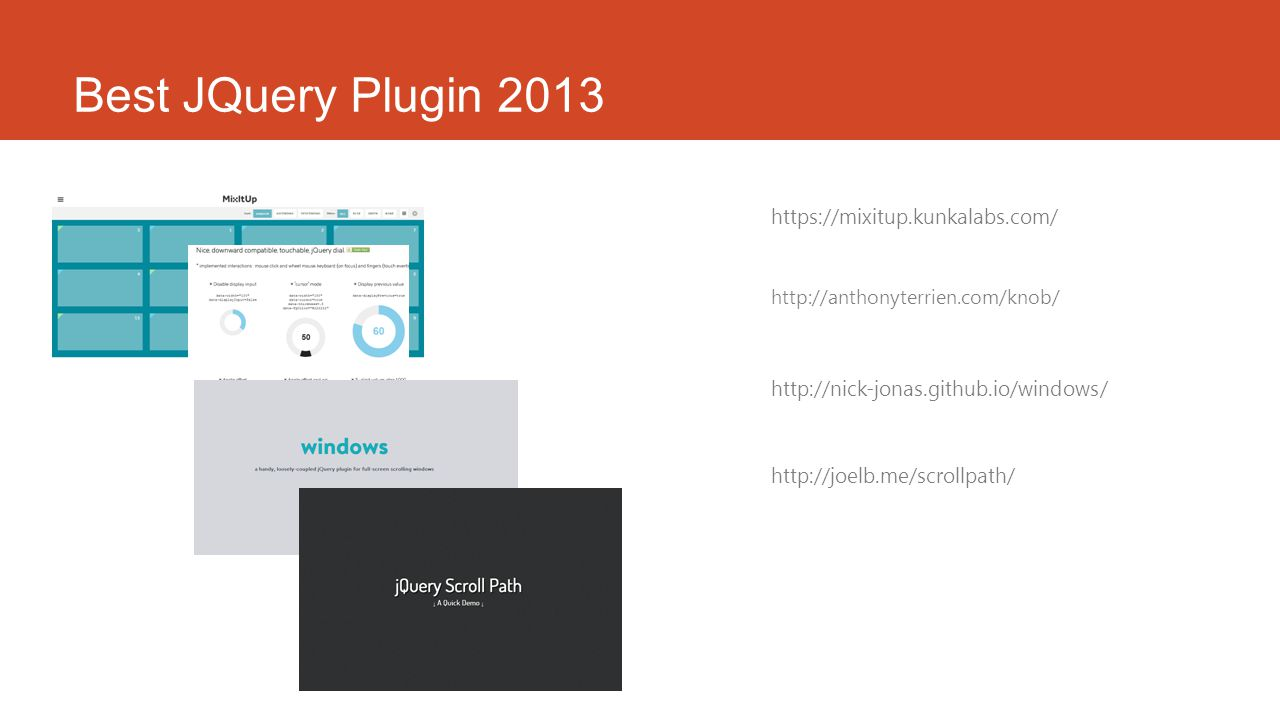 Best JQuery Plugin 2013 https://mixitup.kunkalabs.com/