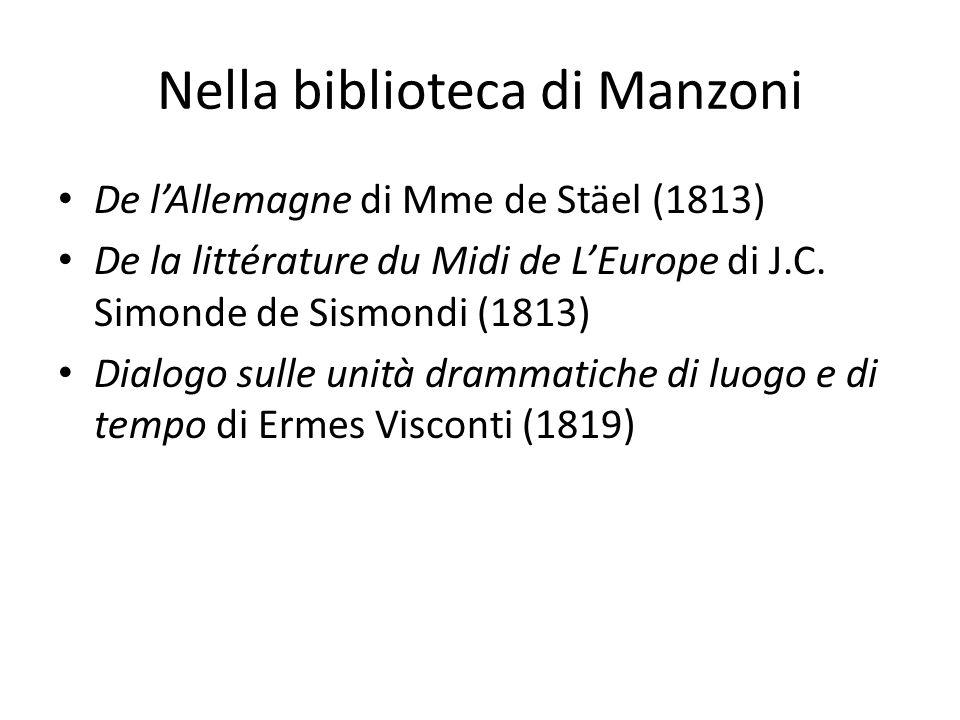 Nella biblioteca di Manzoni