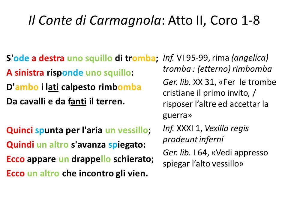 Il Conte di Carmagnola: Atto II, Coro 1-8
