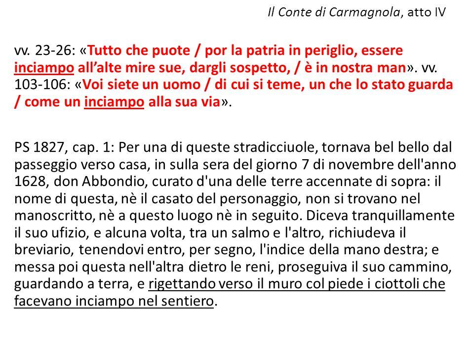 Il Conte di Carmagnola, atto IV