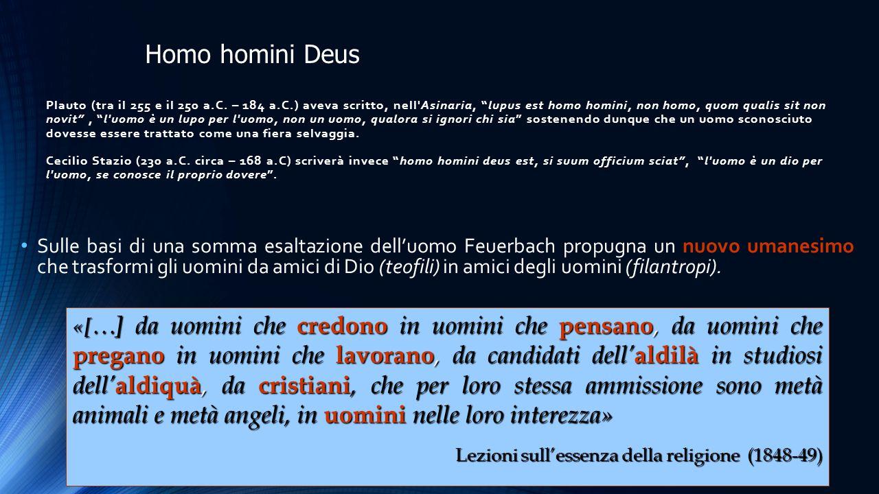 Homo homini Deus