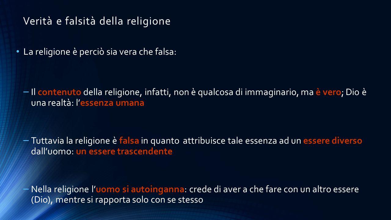 Verità e falsità della religione
