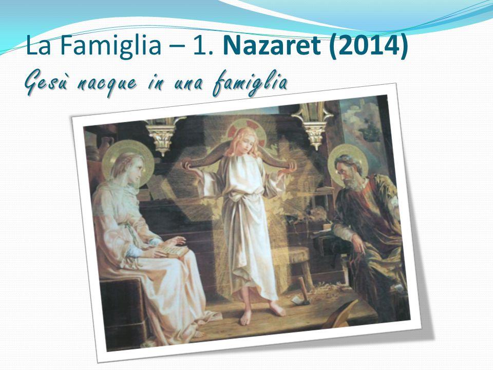 La Famiglia – 1. Nazaret (2014) Gesù nacque in una famiglia