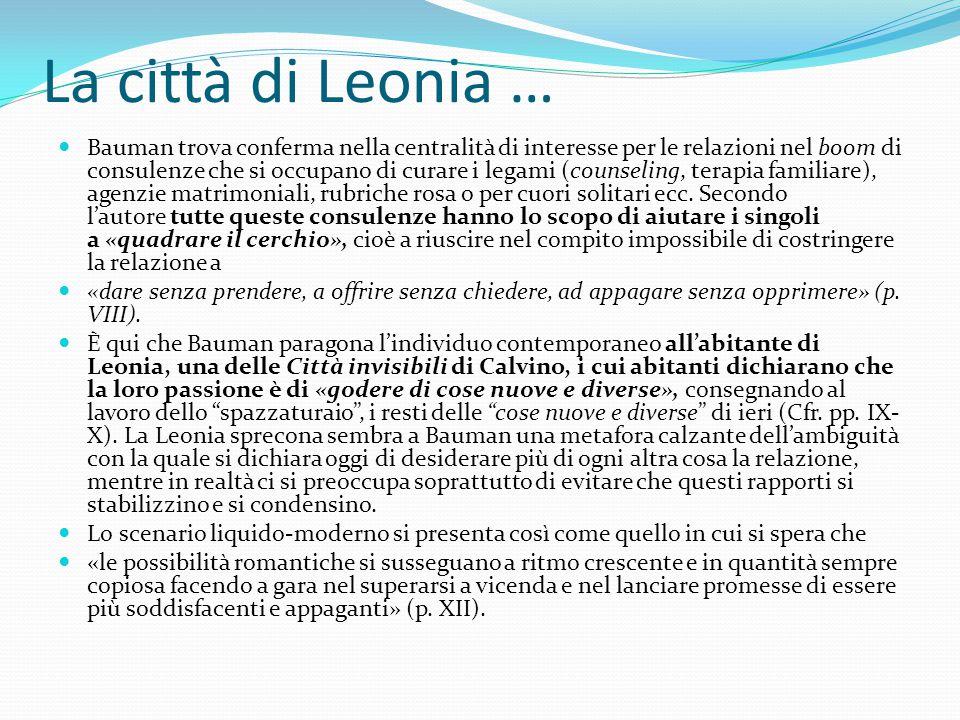La città di Leonia …