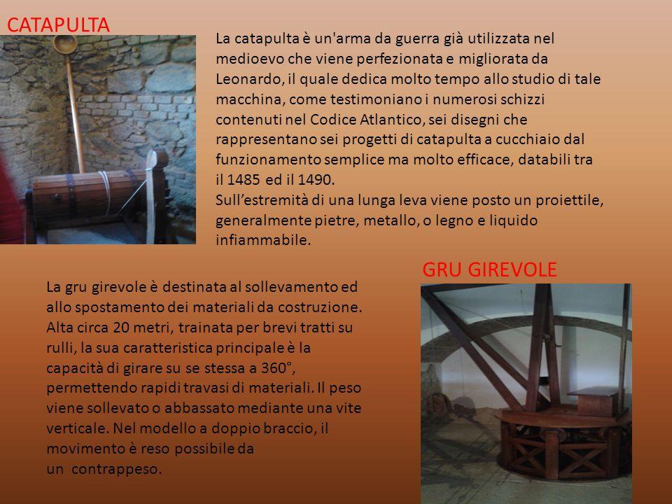 CATAPULTA GRU GIREVOLE