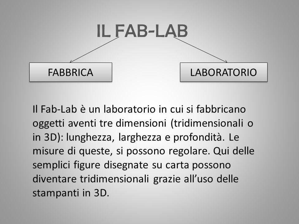 IL FAB-LAB FABBRICA LABORATORIO