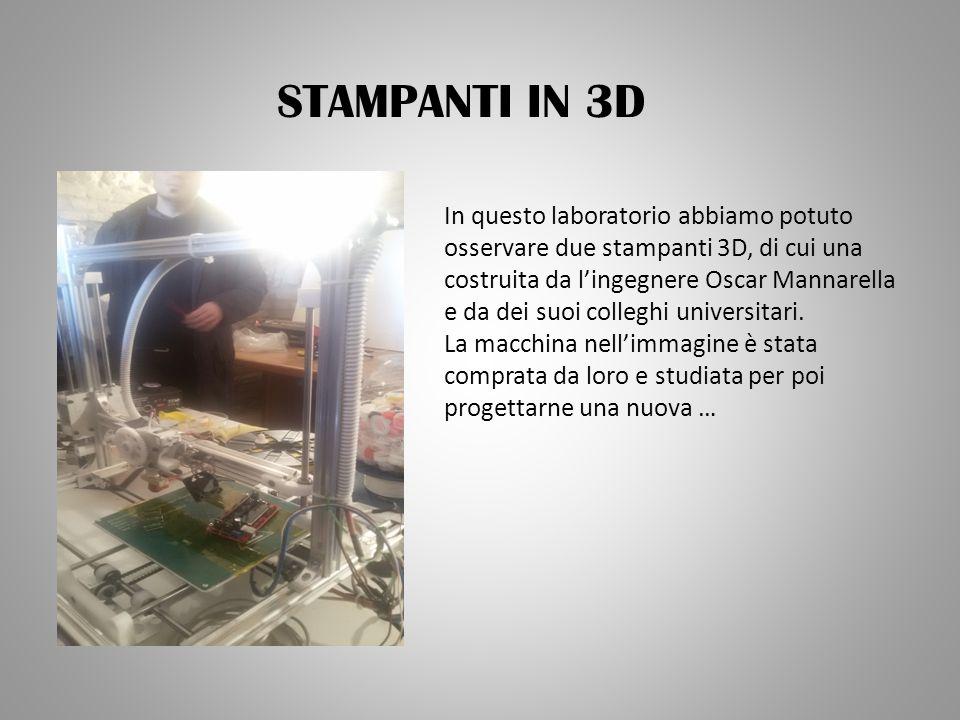 STAMPANTI IN 3D