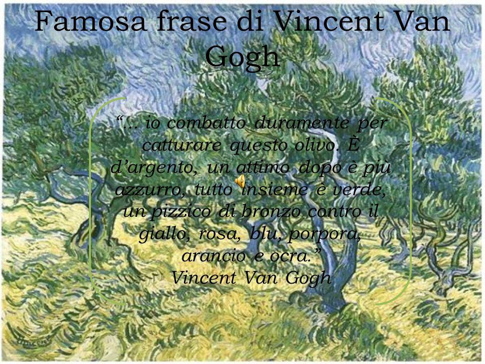 Famosa frase di Vincent Van Gogh