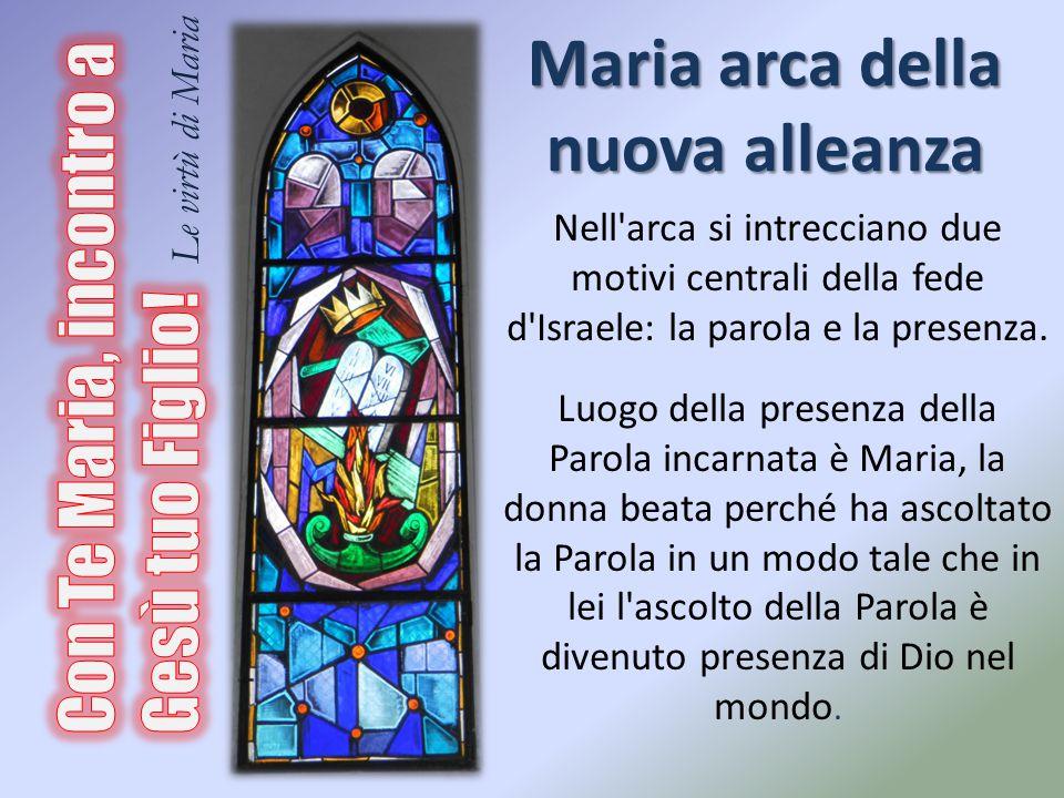 Maria arca della nuova alleanza