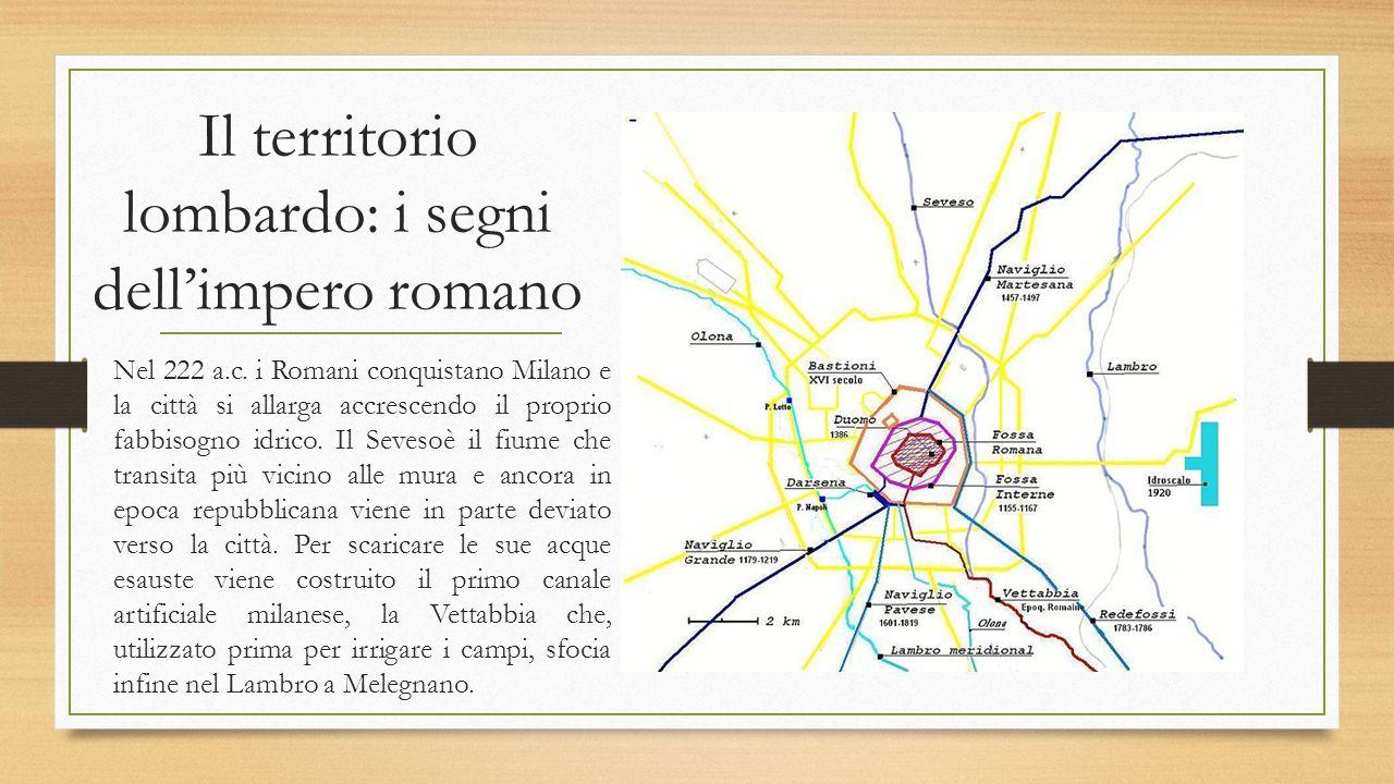 Il territorio lombardo: i segni dell'impero romano