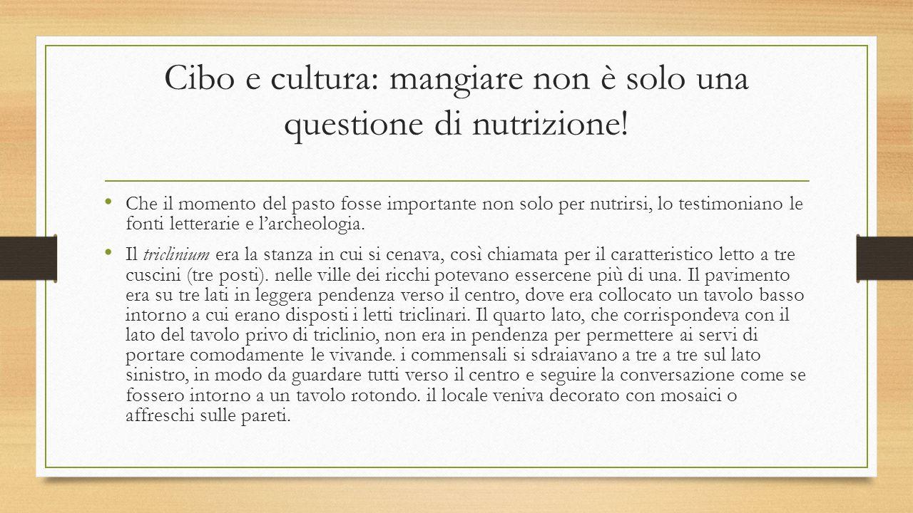 Cibo e cultura: mangiare non è solo una questione di nutrizione!
