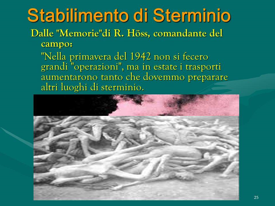 Stabilimento di Sterminio