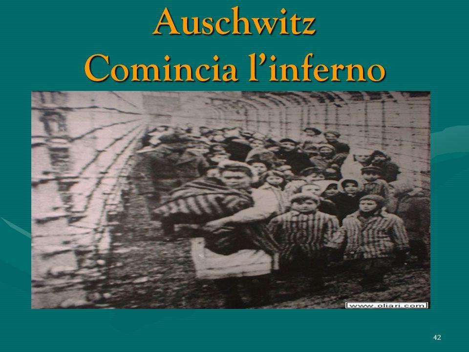 Auschwitz Comincia l'inferno