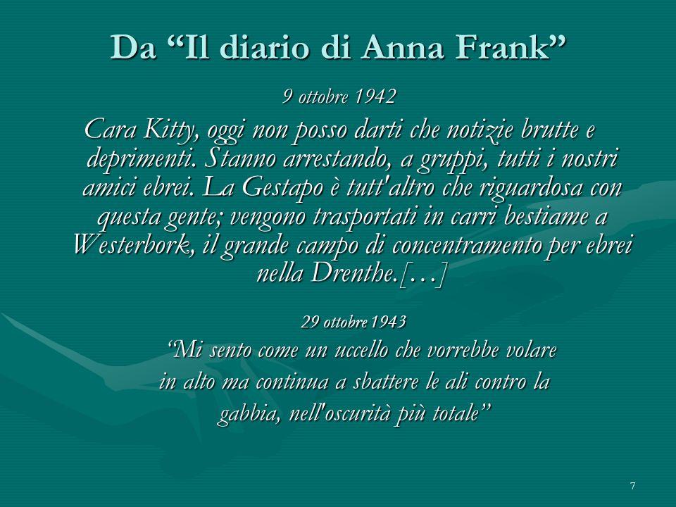 Da Il diario di Anna Frank