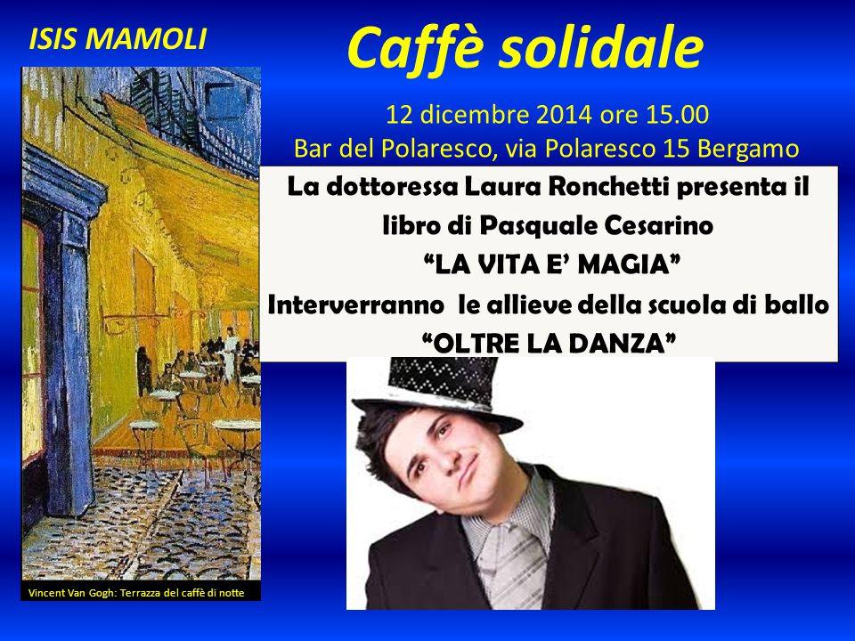 Caffè solidale ISIS MAMOLI