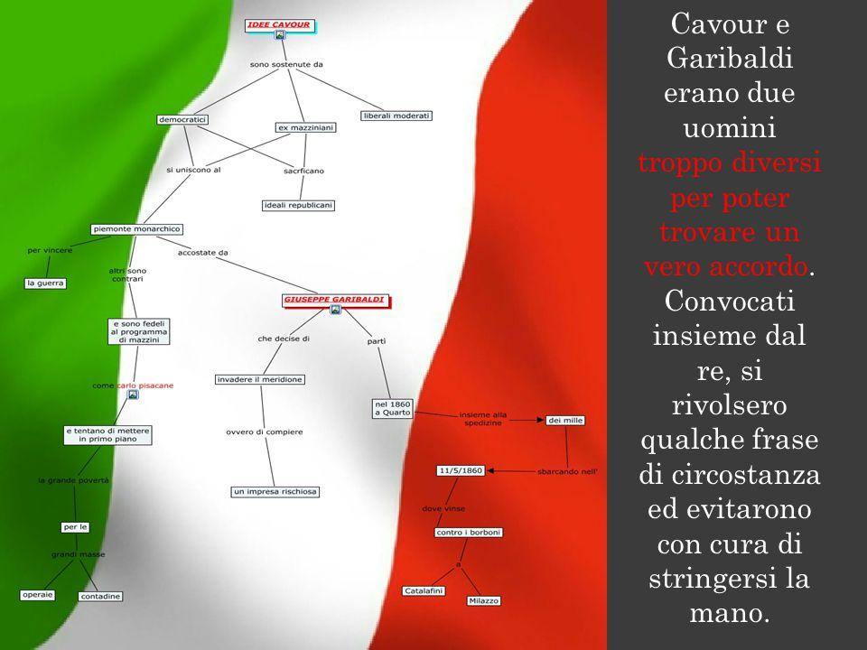 Cavour e Garibaldi