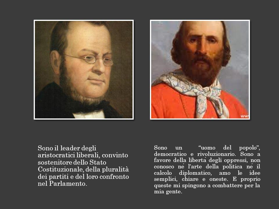 Sono il leader degli aristocratici liberali, convinto sostenitore dello Stato Costituzionale, della pluralità dei partiti e del loro confronto nel Parlamento.