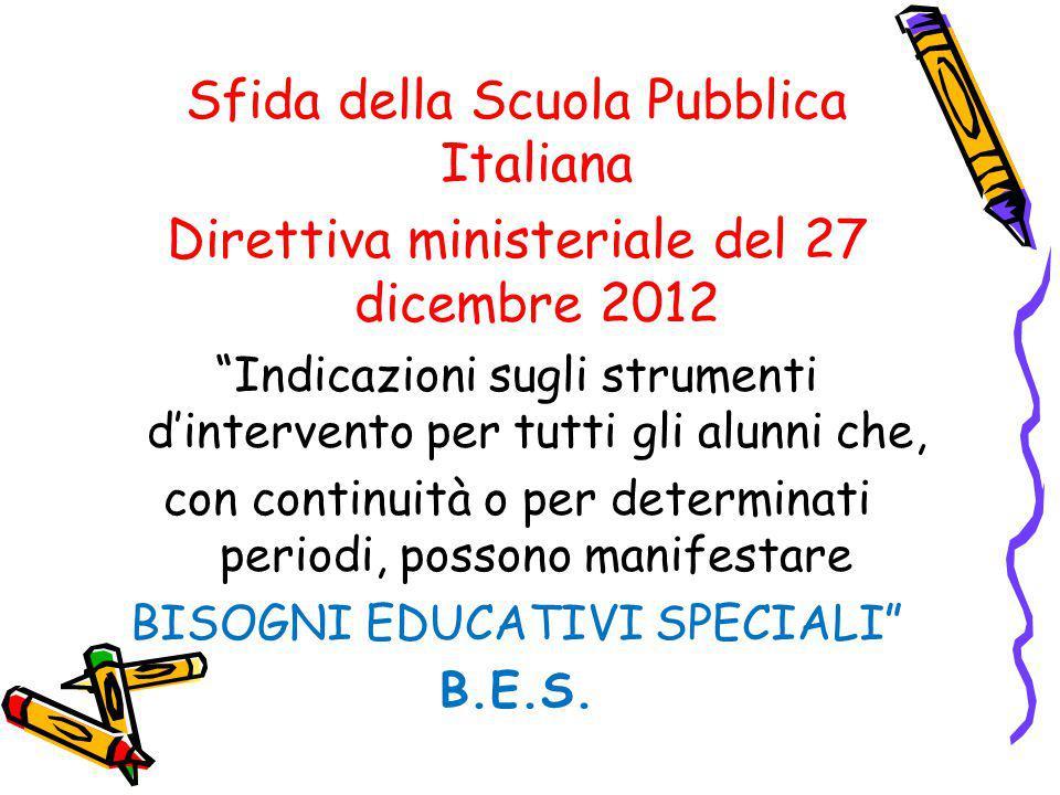 Sfida della Scuola Pubblica Italiana
