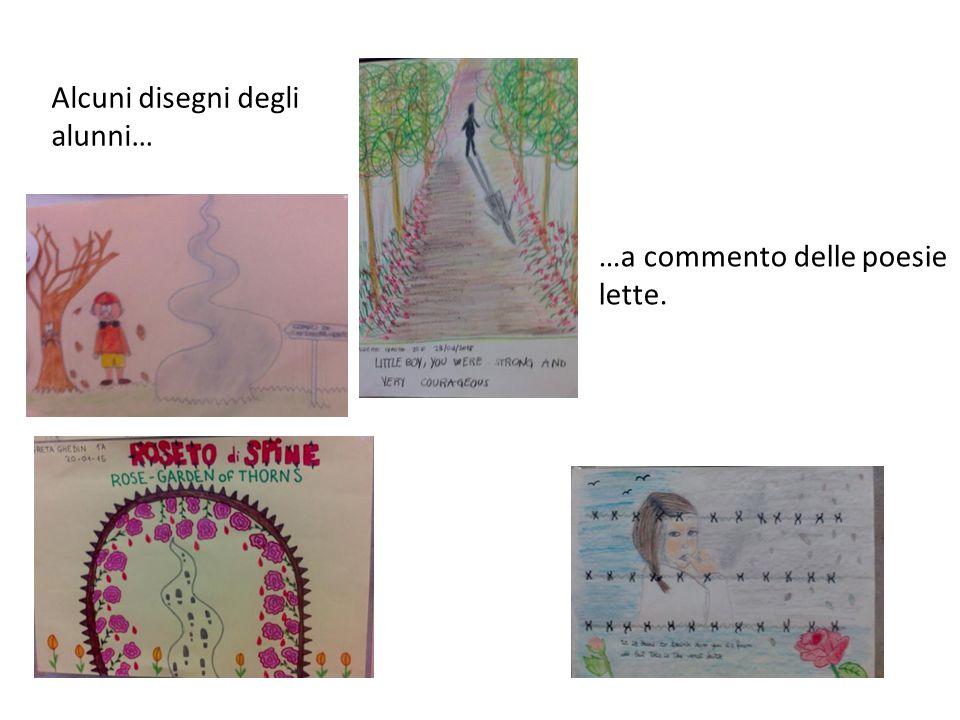 Alcuni disegni degli alunni…