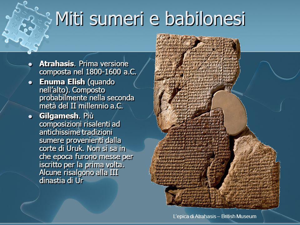 Miti sumeri e babilonesi