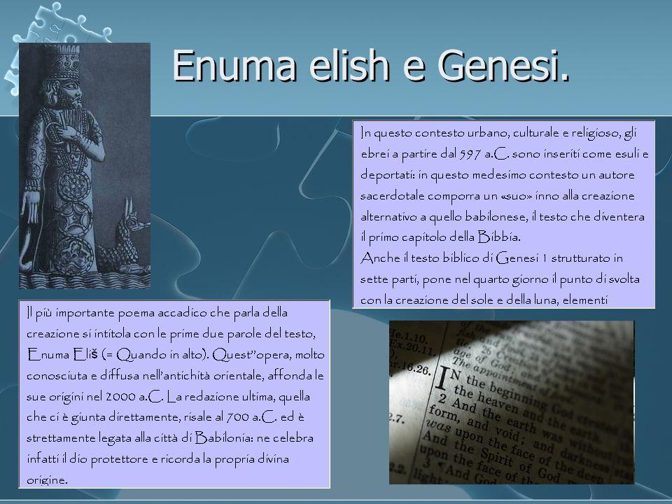 Enuma elish e Genesi.