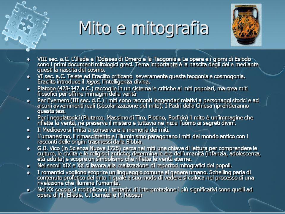 Mito e mitografia