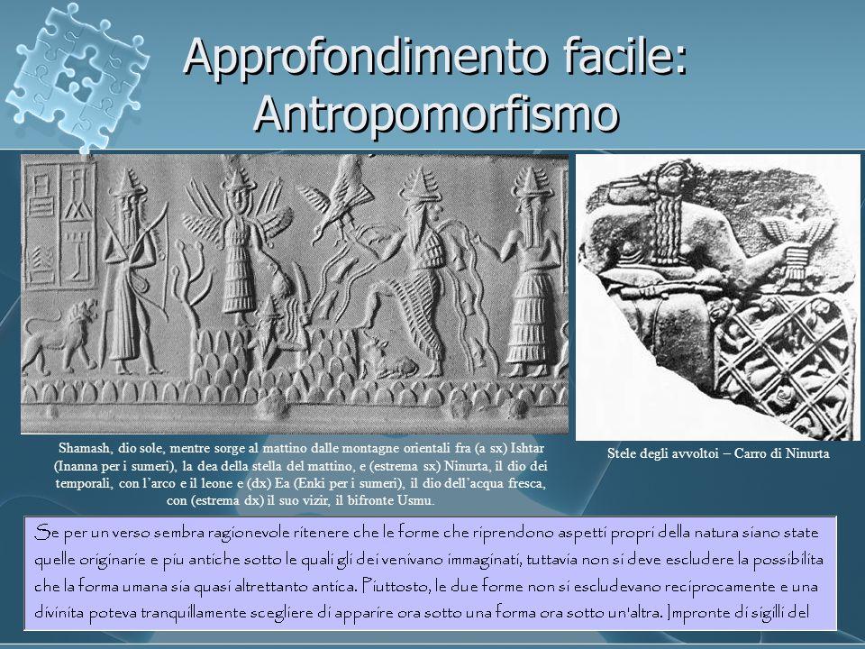 Approfondimento facile: Antropomorfismo