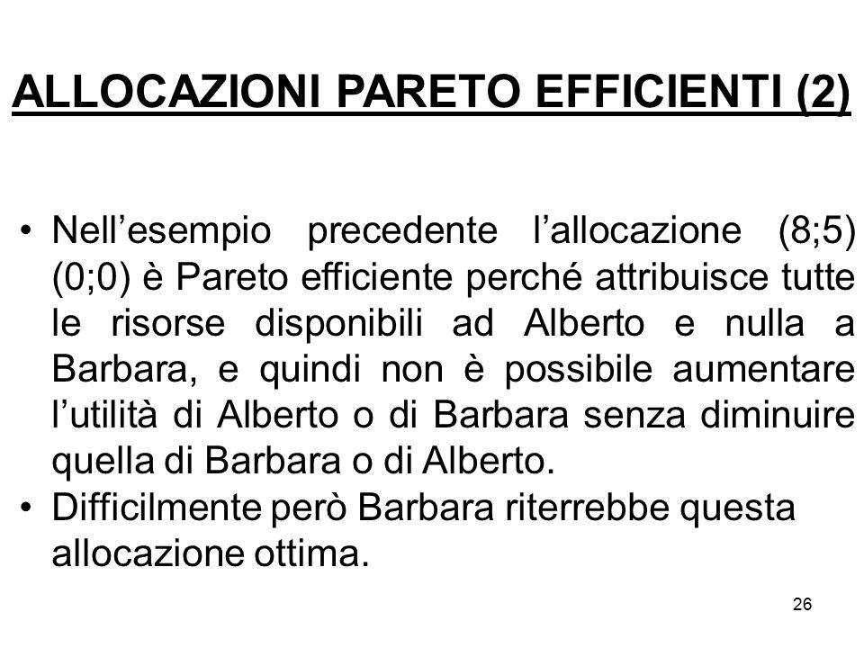 ALLOCAZIONI PARETO EFFICIENTI (2)