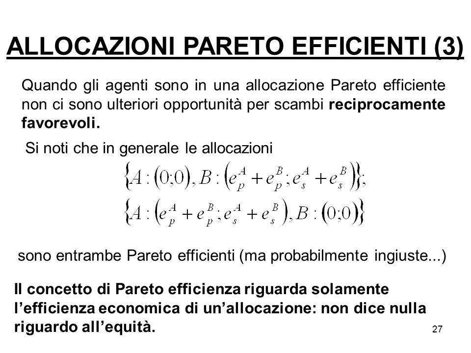 ALLOCAZIONI PARETO EFFICIENTI (3)