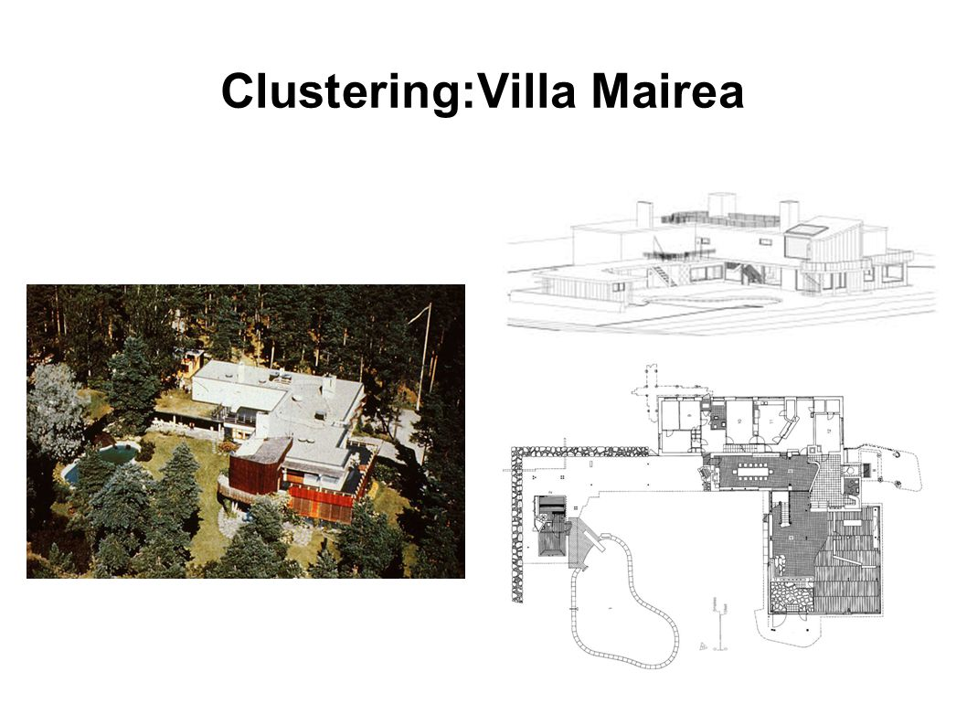 Clustering:Villa Mairea