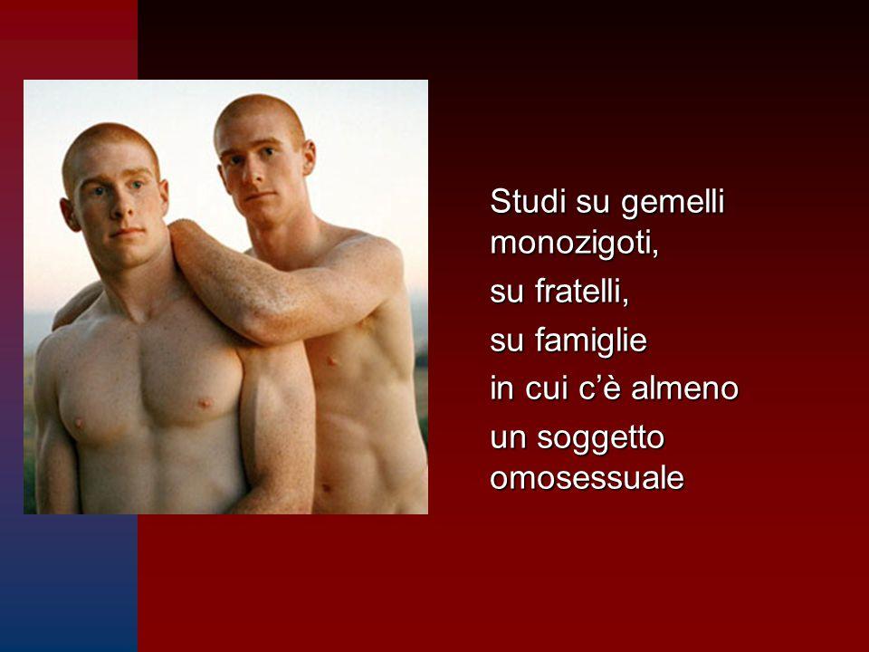 Studi su gemelli monozigoti,