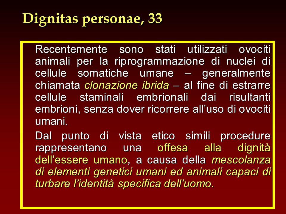 Dignitas personae, 33