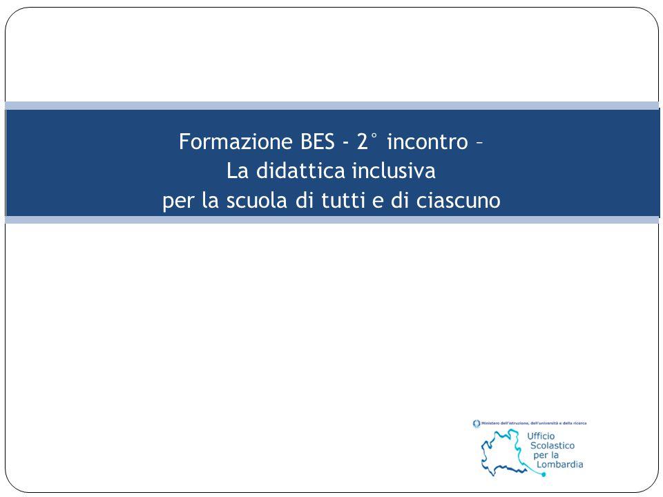 Formazione BES - 2° incontro – La didattica inclusiva