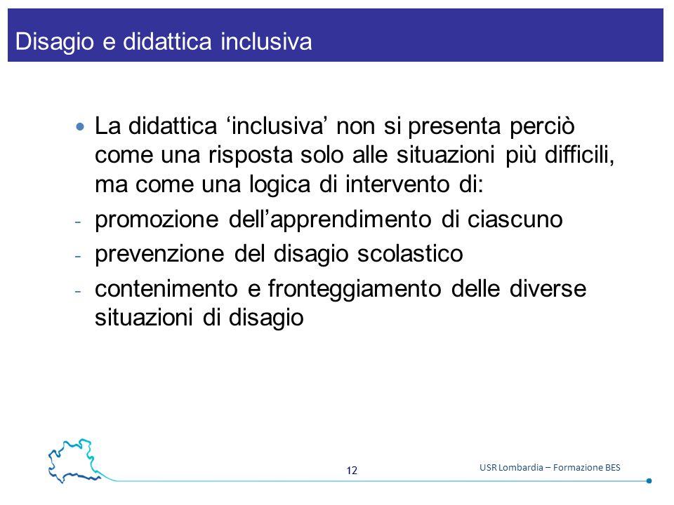 Disagio e didattica inclusiva