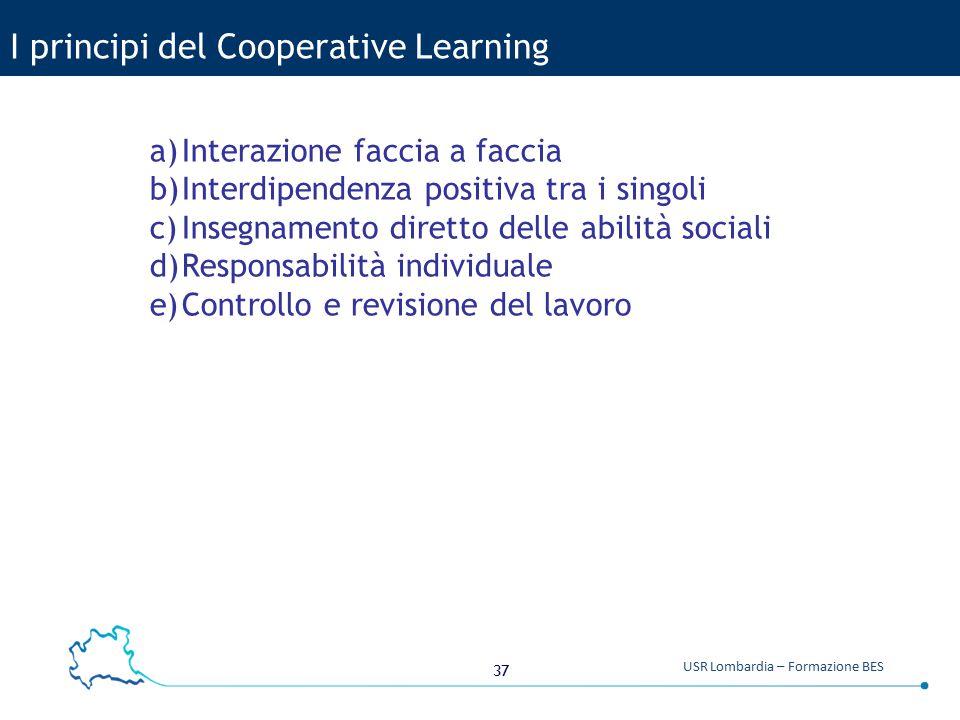 I principi del Cooperative Learning