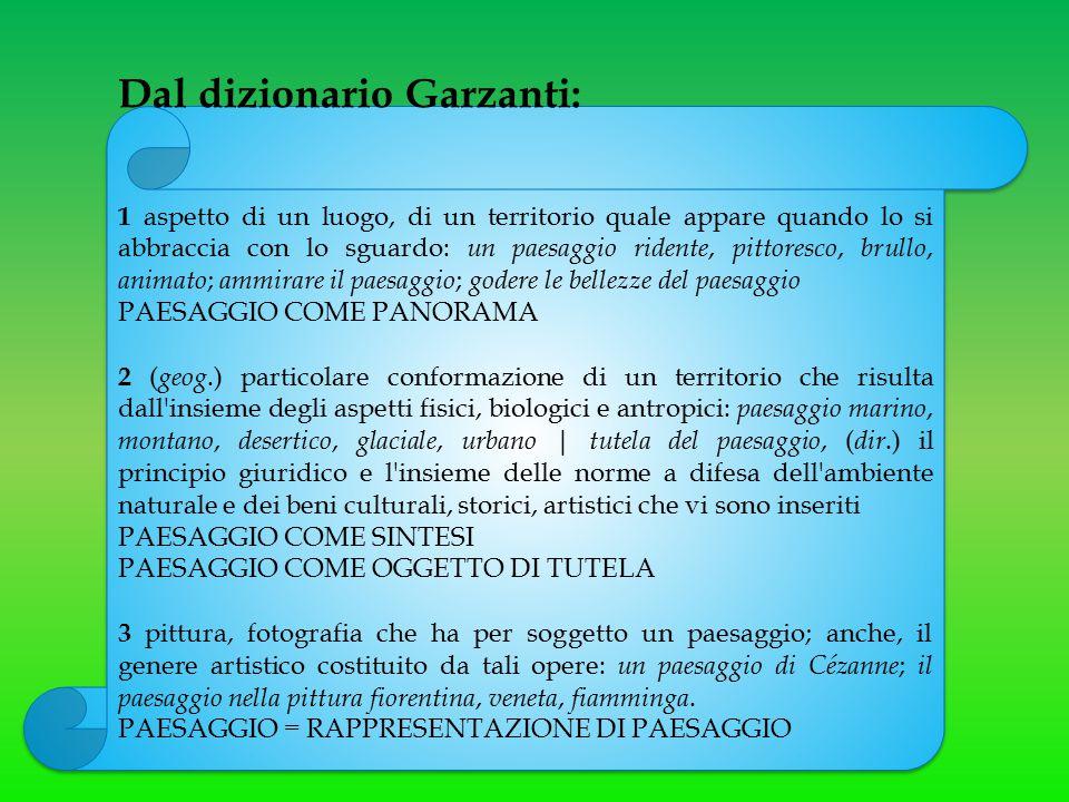 Dal dizionario Garzanti:
