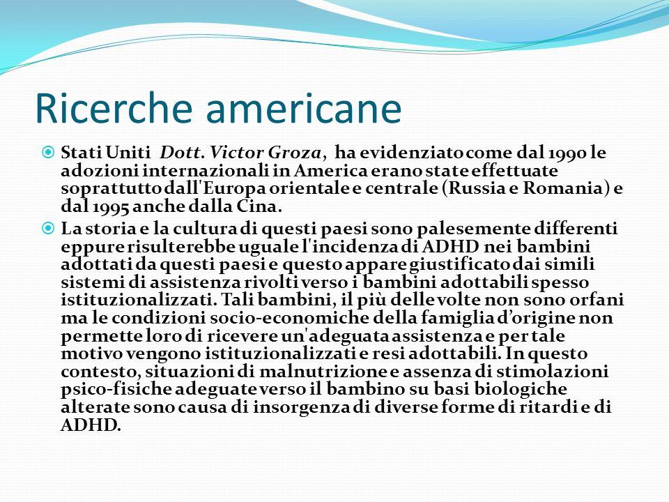 Ricerche americane