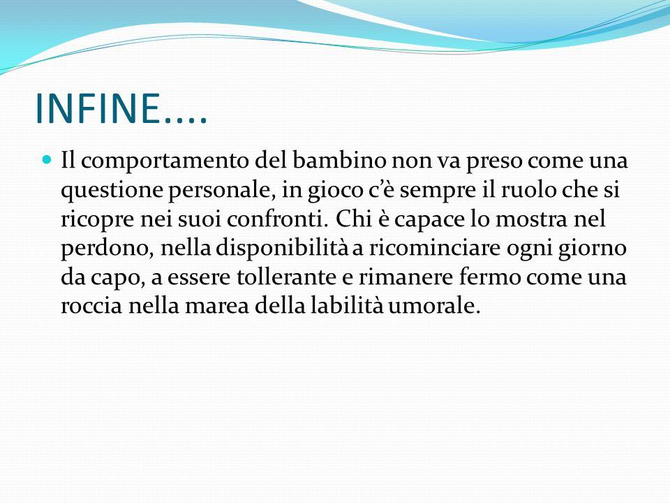INFINE....
