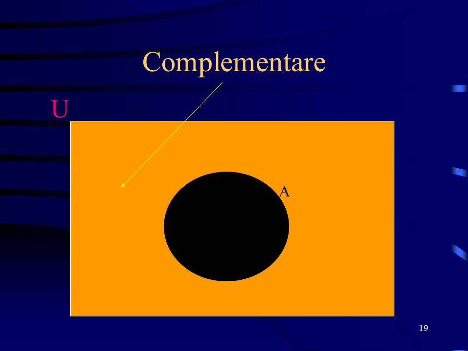 Complementare U A