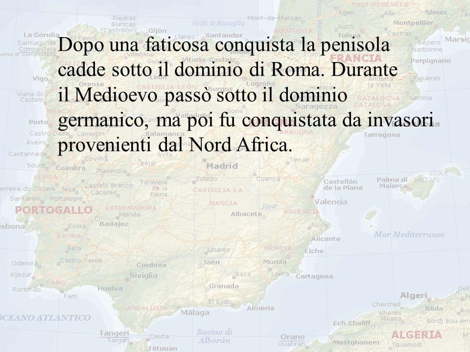 Dopo una faticosa conquista la penisola cadde sotto il dominio di Roma